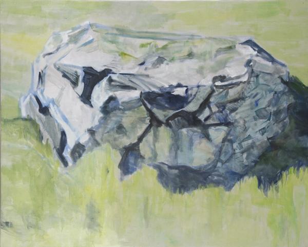 huile sur toile, 120x150 cm