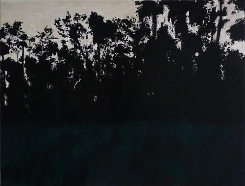 38 x 50 cm, huile sur toile