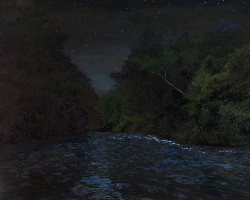 huile sur toile, 2015, col. privée