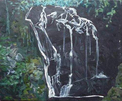 50x60 cm, huile sur toile