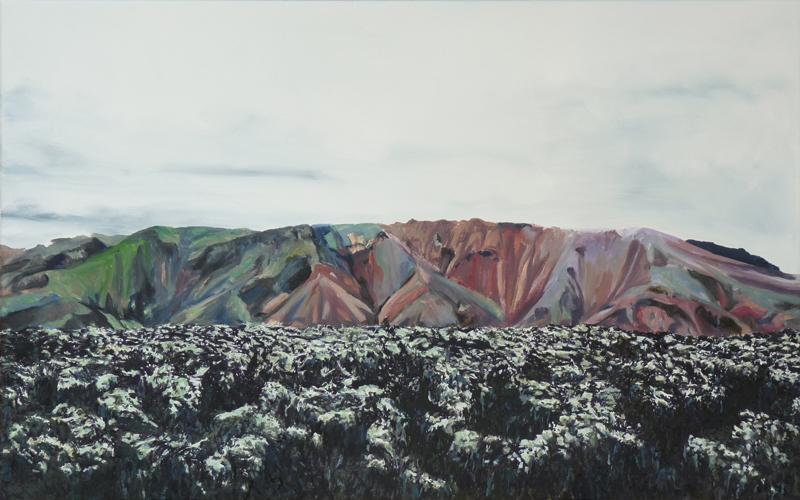 50 x 80 cm, huile sur toile, 2016