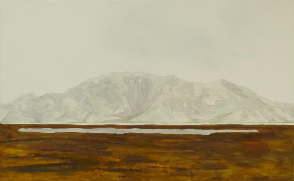 80 x 130 cm, huile sur toile