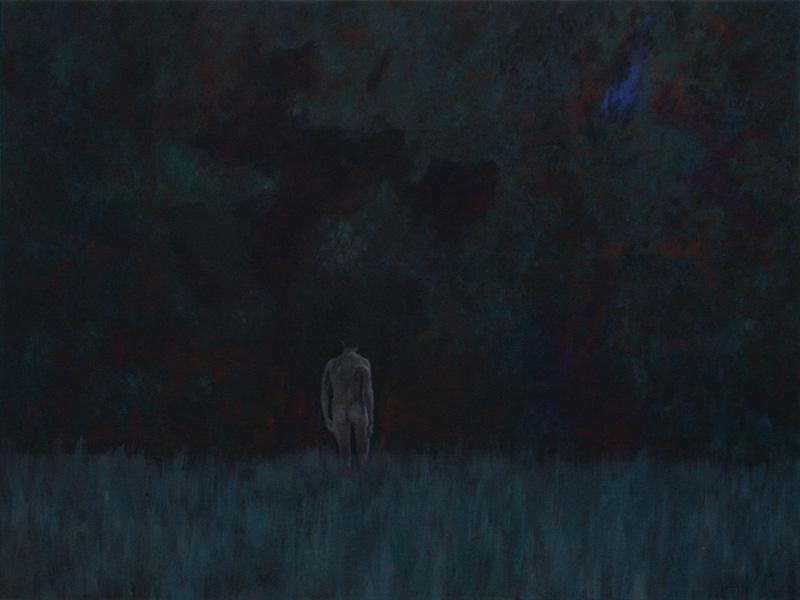 huile sur toile, 120 x 160 cm, 2014