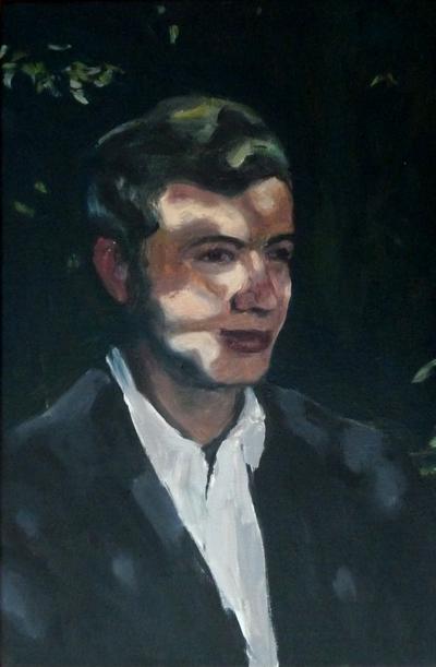 huile sur toile, 60 x 40 cm, 2014