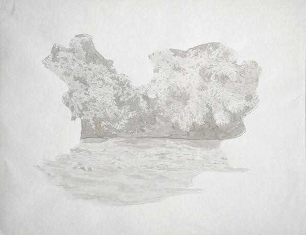 encre de Chine sur papier, 2016