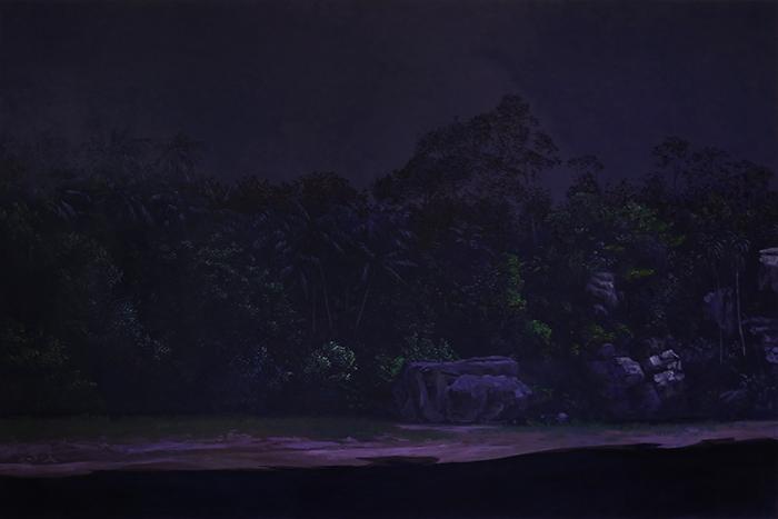 100x150 cm, 2017, coll. privée