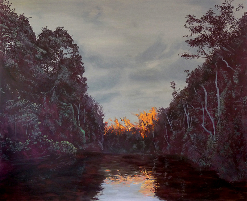 130x160 cm, 2017, collection privée
