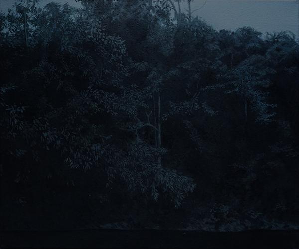 huile sur toile, 2019, col. privée