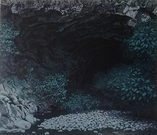 huile sur toile, 2018, col. privée