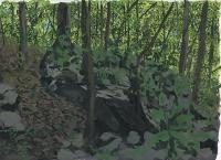 22,8x30,5 cm gouache s/ papier,2019